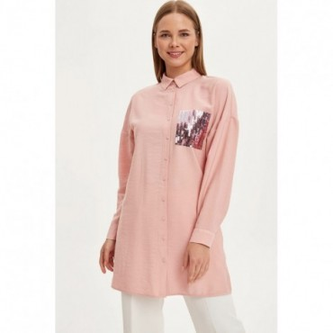 Pink Long Sleeve Tunic