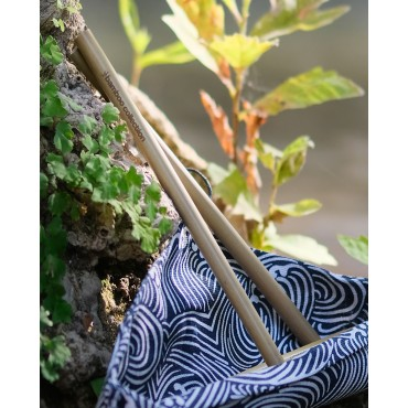 Bamboo straws 5 in one