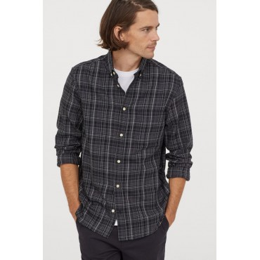 Checked-Flannel-Shirt