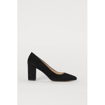 Heeled-Suede-Shoes