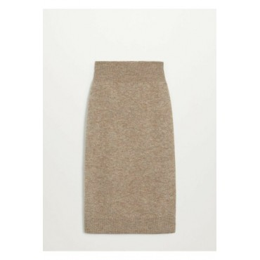 Womens-Medium-Brown-Skirt-85123788