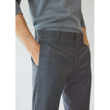 Super-slim-fit-checkered-tailored-trousers