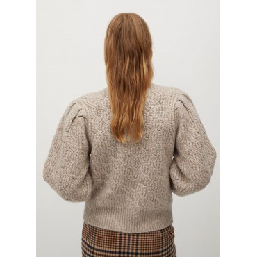 Knitted-sweater