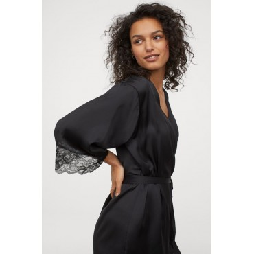 Satin-and-Lace-Dressing-Gown