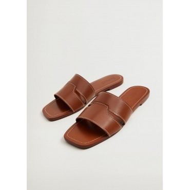 Leather-strap-sandals