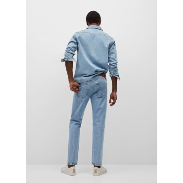 Outdoor-wash-tapered-cut-I-jean-pants