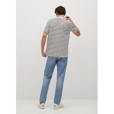 Sustainable-cotton-striped-T-shirt