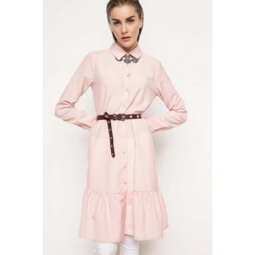 Long Sleeve Tunic pink