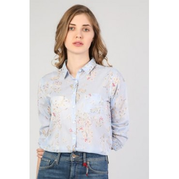 Shirts with rose blue