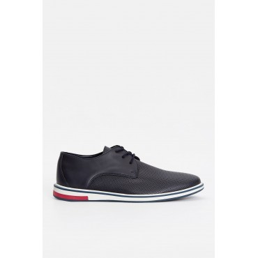 Men's Navy Blue Crp Shoes